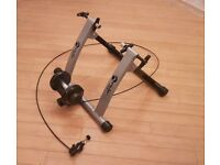 Turbo trainer bike fitness cycling