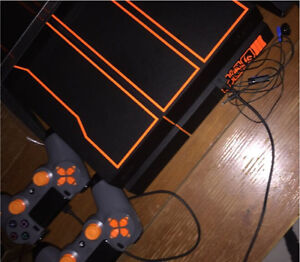 [Rare] 1TB limited edition BO3 PS4 - 2 controllers - 19 games Kitchener / Waterloo Kitchener Area image 1