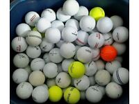 Golf Balls Job Lot x100 Various Bands All Good Condition