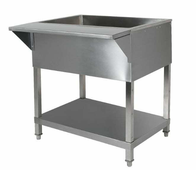 "78"" Cold Food Pan Table"