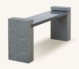 Brand New Granite Garden Bench