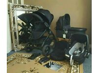 Icandy peach 3 jet travel system with cot and car seat