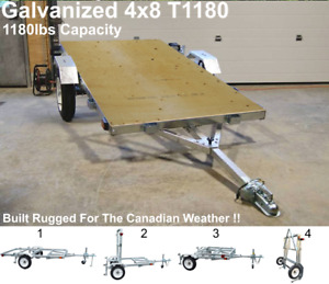 Utility Trailer - (Galvanized)  New in box (Saskatoon)