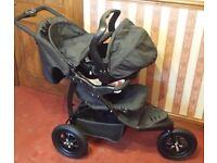 Mothercare urban detour 3 wheeler