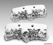 Harley Davidson Chrome Rocker Box Covers