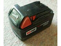 2x Milwaukee 18v Batteries