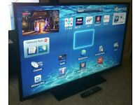 "SAMSUNG 40"" Slim LED FULL HD SMART TV. BUILT IN WiFi FREEVIEW HD, HDMI NEW CONDITION FULLY WORKING"
