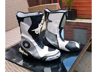 OXTAR womens motorcycle boots