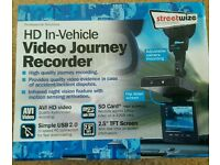 New Streetwize Premium HD In Car Digital Video Journey Recorder