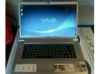 Sony vaio vgn-fw11e laptop full HD screen
