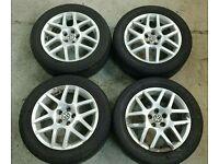 Volkswagen VW Golf Mk4 Montreal Wheels With Toyo Tyres