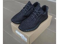New Adidas yeezy 350 boost Private Black best quality come with box