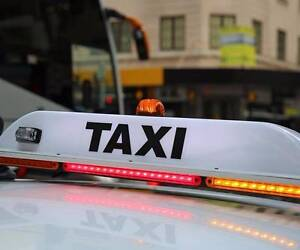 Restricted Sydney Taxi Night Plate Sydney City Inner Sydney Preview