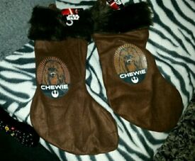 Chewie Xmas stocking new with tags