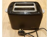 BOSCH toaster with bun heating rack