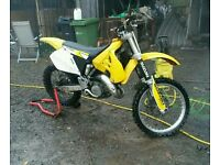 Rm125 kx yz motocross bike cr