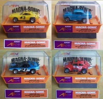 AFX Reproduction Magna-Sonic Slot Car Box Labels!!!