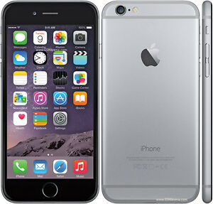 BRAND NEW IPHONE 6 SPACE GREY 16GB