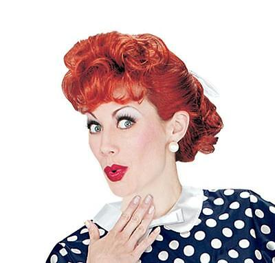 ADULT I LOVE LUCY LUCILLE BALL COSTUME WIG XR19069 NEW - Lucille Ball Halloween