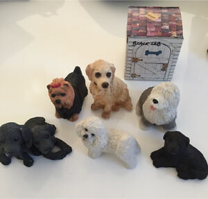 Stone Critters - Dog Ornaments