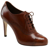 Cole Haan Air Violet Brown Oxford Pump (Size 8) OBO