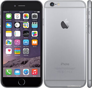 IPHONE 6 GREY 64GB UNLOCKED 10/10 WITH THE BOX
