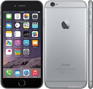 Brand New iPhone 6 space grey 16gb - bell