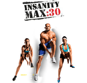 "Shaun T's ""Insanity Max30"" Workout Fitness"