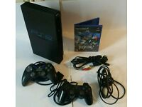 SONY PS2 FAT CONSOLE INC EXTRAS!!!