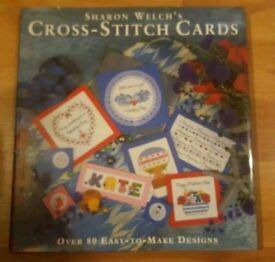 Cross stitch book of card designs NEW
