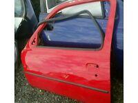 Nissan micra k11 3 door ns door in red