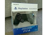 PS4 DualShock 4 Controller Black V2 BRAND NEW