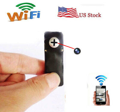 wireless network Mini WIFI IP DIY spy screw hidden pinhole camera DVR recorder