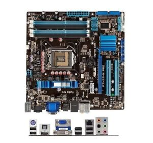 ASUS motherboard P7H55-M PRO + i5-650 : 3.2 GHZ , HDMI: 75$