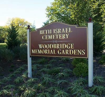 2 cemetery plots for sale at Beth Israel Jewish Cemetery Woodbridge NJ 07095
