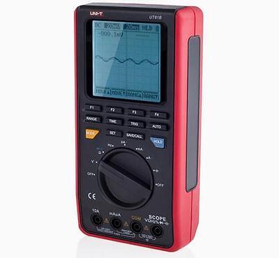 Handheld 8mhz Oscilloscope Scopemeter 40msas 3999 Counts Multimeter Usb Ut81b