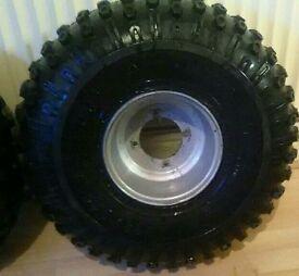 Quad wheel's and tyre's