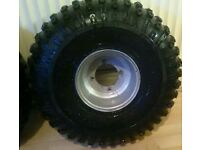 Quad wheel's and tyre's