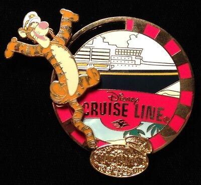 DISNEY PIN - TIGGER with Cruise Line Ship Captain's Choice November 2004 DCL LE