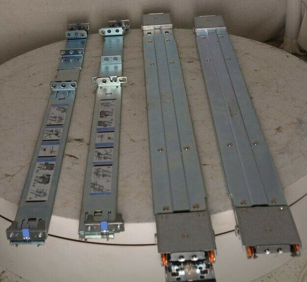 Dell W874K Rack Mount Rail Set D419M D927R