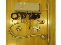 Aqualisa shower set. Gravity electronic pump