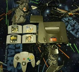 Nintendo 64 N64 bundle with zelda