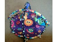 LAMAZE BABY PLAY GYM MAT WITH SOUNDS AND MOVEMENT *VERY GOOD CONDITION*