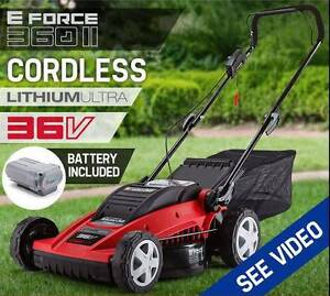 Lawn Mower Cordless Lawnmower Lithium Battery Powered New Perth Perth City Area Preview