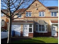 Semi-detached 4 bedroom house to rent - Includes loft conversion, garage, front and back gardens