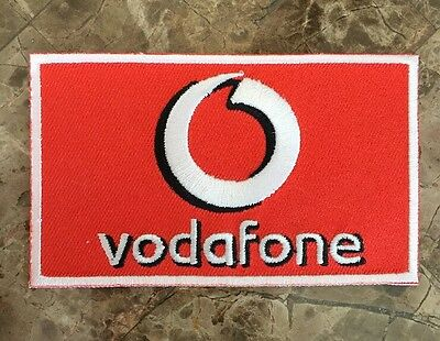 RARE Official Ferrari F1 Vodafone Sponsor Uniform Patch - Massa - Schumacher