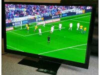 "LG 50"" Super Slim TV FULL HD BUILT IN FREEVIEW EXCELLENT CONDITION REMOTE CONTROL HDMI FULLY WORKING"