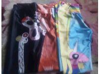 Colourful leggings full length small