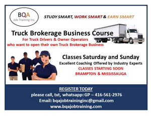 FREE DEMO CLASS OF TRUCK BROKERAGE BUSINESS COURSE