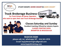 WANT OWN TRUCK BROKERAGE BUSINESS-JOIN THE COURSE